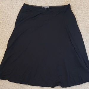 Soft silky skirt